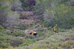 Спасение горы чрезвычайных обслуживани Стоковое Фото