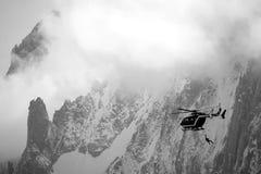 спасение горы Стоковое фото RF