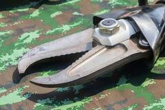Спасение оборудует резец наивысшей мощности инструментов гидравлического резца Стоковая Фотография