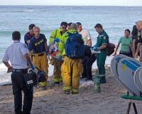 Спасение отделения пожарной охраны Стоковое Фото