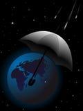 спасение планеты земли иллюстрация штока
