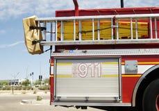 спасение пожара стоковая фотография