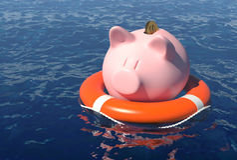 Спасение сбережений Стоковое фото RF