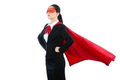 Спасение юриста супергероя вопрос о семьи Стоковые Фотографии RF