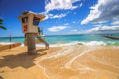 Спасение Waikiki прибоя Стоковые Изображения