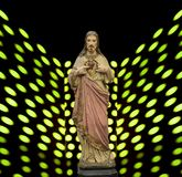 Спаситель Иисуса Христоса христиан Стоковые Фотографии RF