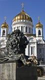 спаситель christ jesus moscow собора Стоковая Фотография