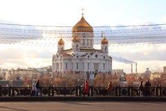 спаситель christ moscow собора Стоковая Фотография RF