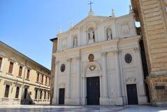 спаситель saragossa собора стоковые изображения rf