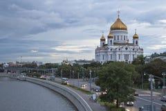 спаситель christ собора moscow стоковые изображения rf