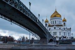 спаситель christ moscow России собора Стоковая Фотография RF