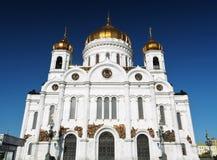 спаситель christ moscow России собора Стоковое Изображение