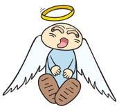 спать ангела Стоковое Фото