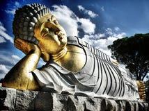 спать Будды Стоковая Фотография RF