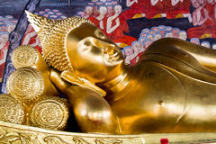 Спать Будда Стоковые Фото
