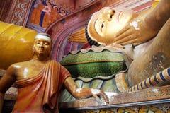 Спать Будда стоковая фотография
