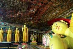 Спать Будда стоковое фото rf