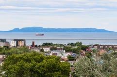 Спать гигант Thunder Bay стоковые изображения rf
