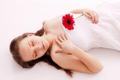 спать красотки Стоковые Изображения RF