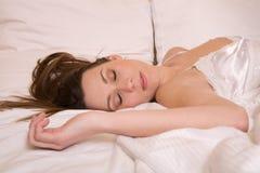 спать красотки Стоковая Фотография