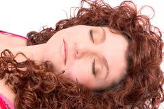 спать красотки Стоковое Фото