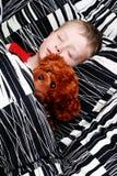 спать малыша стоковое изображение