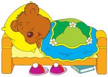 спать медведя иллюстрация штока