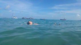 Спать над водой стоковые фотографии rf