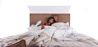 спать пар Стоковая Фотография RF