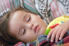 спать портрета ребенка Стоковые Фото
