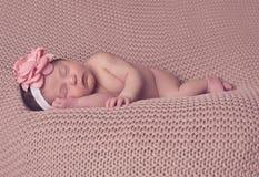 Спать представленный младенцем стоковое изображение rf