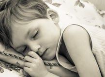 спать ребенка стоковое фото rf