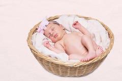спать ребёнка Стоковая Фотография RF