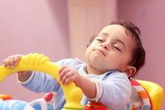 спать ребёнка Стоковые Фото