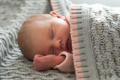 спать ребёнка Стоковое Изображение