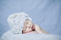 спать ребёнка newborn Стоковое Изображение RF