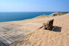 спать дюн медведя lakeshore национальный Стоковое Изображение