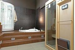 спа ванной комнаты Стоковое Изображение