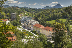 Спа-курорт Rogaska Slatina, Словения стоковые фотографии rf