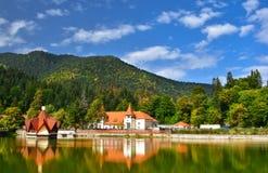 Спа-курорт Tusnad в Румынии стоковое изображение