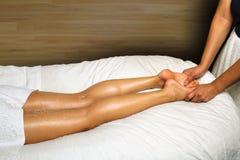 спа массажа ноги роскошная Стоковое Изображение RF