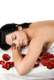 спа массажа стоковое изображение