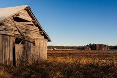 Спад на полях осени Стоковая Фотография RF