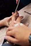 Спа ногтя Стоковое Изображение