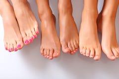спа ног Стоковые Изображения RF