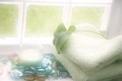 спа отступления ванны мечт стоковое изображение rf