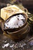 спа соли Стоковая Фотография