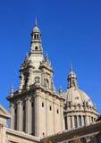 спа соотечественника музея catalunya barcelona искусства Стоковые Фото
