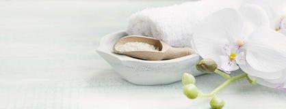 спа соли жизни ванны все еще Стоковое Изображение RF
