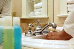 спа человека гостиницы роскошная Стоковое Фото